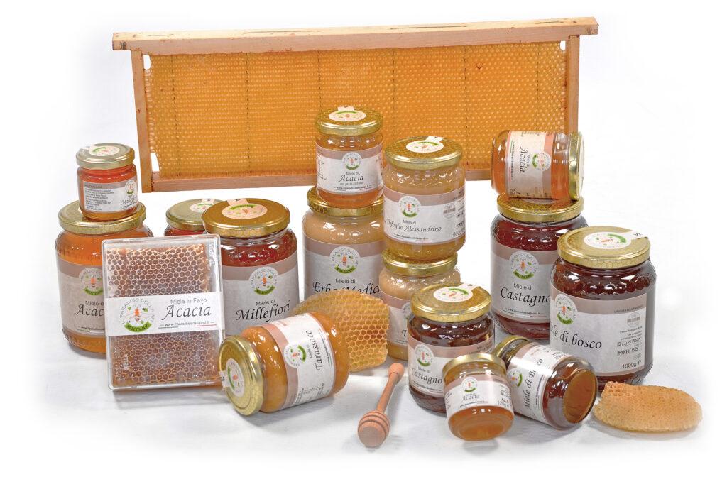 Tipi di miele disponibili